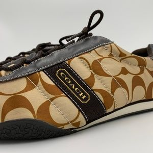 Coach Signature Brown Sneakers